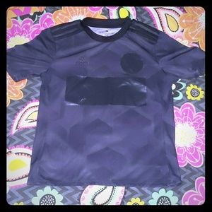 Adidas M Black Jersey Shirt